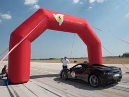 La Ferrari Cavalcade ha fatto tappa in Puglia