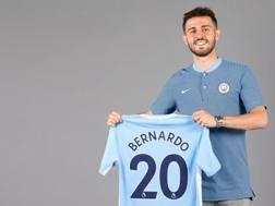 Bernardo Silva con la maglia del Manchester City