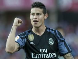 James David Rodríguez Rubio, 25 anni, centrocampista colombiano del Real Madrid. Afp