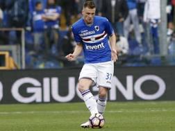 Milan Skriniar, 22 anni, giocherà con l'Inter dalla prossima stagione. LaPresse