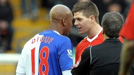 Diouf contro Gerrard