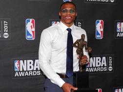 Russell Westbrook, 28 anni. Reuters