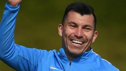 Gary Alexis Medel Soto, 29 anni, centrocampista cileno dell'Inter. Getty Images