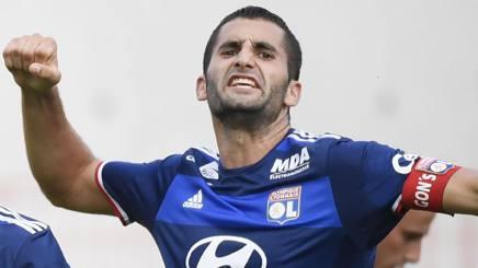 Maxime Gonalons, 28 anni, centrocampista francese del Lione. Afp