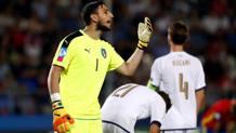Gigio Donnarumma, 18 anni, non impeccabile nel secondo gol della Spagna. Reuters