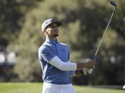Stephen Curry in versione golfista. Ap