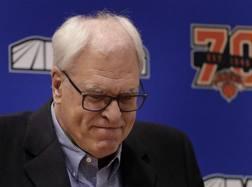 Phil Jackson, 71 anni, con i Knicks aveva vinto i suoi due anelli da giocatore. Ap
