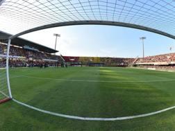 Lo stadio Vigorito di Benevento. Getty