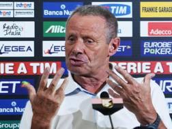 Maurizio Zamparini, 76 anni. Ansa