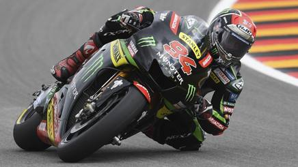 Jonas Folger in azione in Germania. Ap