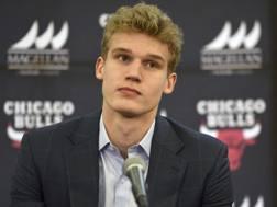Lauri Markkanen , scelto con la numero 7 all'ultimo draft. Ap