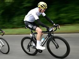 Chris Froome, 32 anni, tre volte re del Tour de France. Afp