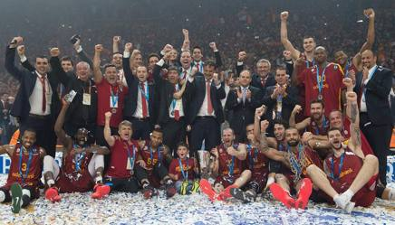 Il Galatasaray campione dell'ultima edizione. Getty Images