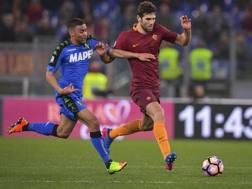 Gregoire Defrel, 26 anni, ha segnato 12 reti in 29 presenze nell'ultima stagione a Sassuolo