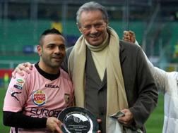 Fabrizio Miccoli è il miglior marcatore di sempre del Palermo con 81 reti in 165 presenze