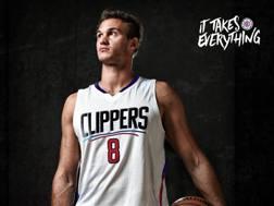 La prima foto di Danilo Gallinari in maglia Clippers. Twitter