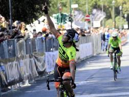 Marta Bastianelli quest'anno ha vinto anche il Gp Liberazione. Ansa
