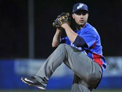 Alex Bassani, 27enne lanciatore battitore designato del Novara