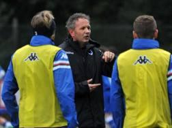 La seconda esperienza di Sinisa Mihajlovic alla Sampdoria, da allenatore. Ansa