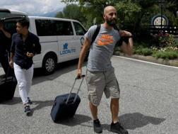 L'arrivo di Borja Valero a Riscone di Brunico
