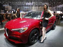 L'Alfa Romeo Stelvio. Reuters