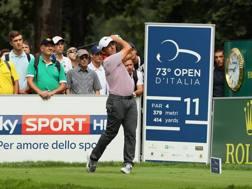 Francesco Molinari , vincitore dell'Open d'Italia 2016 a Monza GETTY