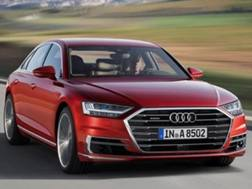 L'Audi A8 in Germania entro la fine del 2017