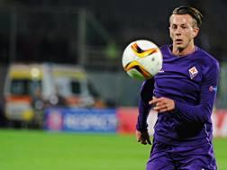Federico Bernardeschi, esterno offensivo della Fiorentina. Ansa