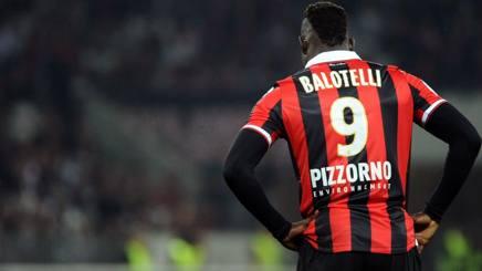 Mario Balotelli, 26 anni, 15 gol con il Nizza la scorsa stagione. AFP