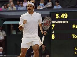 Roger Federer. Ap