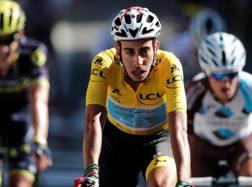 Fabio Aru sul traguardo di Rodez. Reuters