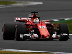 Sebastian Vettel, leader del mondiale. Getty