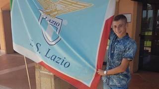 Il 13enne Luigi Cherubini, appena passato dalla Roma alla Lazio