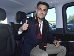 Cengiz Ünder, 20 anni, ultimo acquisto della Roma. LaPresse