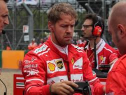 Sebastian Vettel, 30 anni. Lapresse