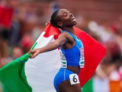 Ayomide Folorunso, 21 anni, campionessa europea dei 400hs. European Athletics