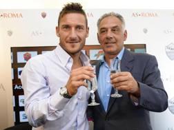 Francesco Totti, 40 anni. Ansa