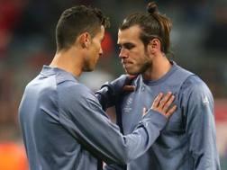 Cristiano Ronaldo e Bale. REUTERS