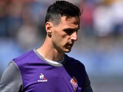 Nikola Kalinic, 29 anni, attaccante della Fiorentina e della nazionale croata. Ansa