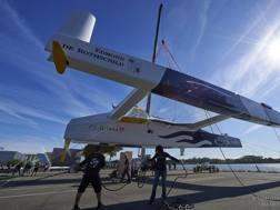 Gitana 17 il più grande trimarano volante del mondo