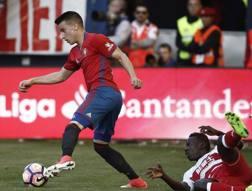 Alex Berenguer, 22 anni, arriva al Torino dall'Osasuna. Afp