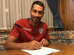 Marco Borriello, 35 anni. Twitter Cagliari