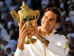 Roger Federer, 35 anni. Epa
