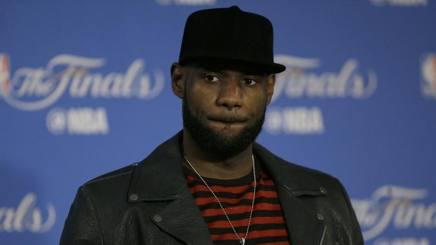 LeBron James, 32 anni, tornato a Cleveland nel 2014. Ap