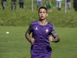 Illanes, difensore argentino classe 97, in gol contro il Trento. LAPRESSE