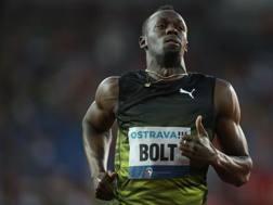 Usain Bolt, 30 anni, 8 medaglie d'oro olimpiche. Quella della 4x100 di Pechino gli è stata tolta dopo la squalifica di Nesta Carter  AFP