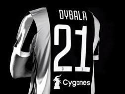 Il nuovo sponsor, questa volta sul retro, della Juve. Fonte: Juventus