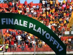 Il Benevento ha vinto l'ultima edizione dei Playoff, battendo in finale il Carpi. ANSA