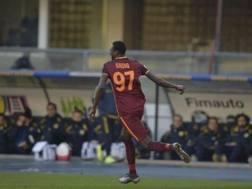 Sadiq Umar, attaccante della Roma classe 1997.