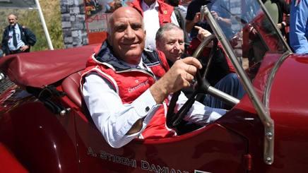 Il presidente dell'Aci Angelo Sticchi Damiani. Archivio